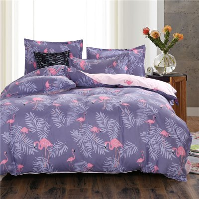 weina 4-piece Cotton Warm Crane Pattern Bedding SetBedding Sets<br>weina 4-piece Cotton Warm Crane Pattern Bedding Set<br><br>Brand: weina<br>Category: Bedding Set<br>For: All<br>Material: Cotton<br>Occasion: Bedroom<br>Package Contents: 1 x Quilt Cover, 1 x Bed Sheet, 2 x Pillow Case<br>Package size (L x W x H): 50.00 x 40.00 x 5.00 cm / 19.69 x 15.75 x 1.97 inches<br>Package weight: 2.8000 kg<br>Product weight: 2.5000 kg<br>Type: Comfortable