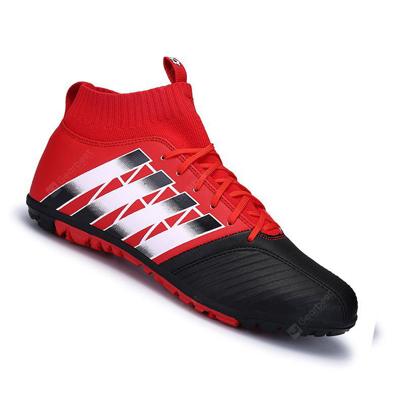 Hommes Football Running Lace Up Sport En Plein Air Football Coloré Multicolore Chaussures de Sport 39-44
