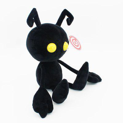 Kingdom Hearts Black Ant Plush Toy 11 InchStuffed Cartoon Toys<br>Kingdom Hearts Black Ant Plush Toy 11 Inch<br><br>Features: Cartoon<br>Materials: Plush<br>Package Contents: 1 x Plush Doll<br>Package size: 23.00 x 13.00 x 17.00 cm / 9.06 x 5.12 x 6.69 inches<br>Package weight: 0.2400 kg<br>Product size: 22.00 x 12.00 x 16.00 cm / 8.66 x 4.72 x 6.3 inches<br>Product weight: 0.2140 kg<br>Series: Fashion,Lifestyle<br>Theme: Movie and TV