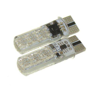 Sencart T10 6 SMD5050 RGB LED Car Interior Reading Light Super Bright 16-Color 2PCS with Wireless Remote ControlLED Bi-pin Lights<br>Sencart T10 6 SMD5050 RGB LED Car Interior Reading Light Super Bright 16-Color 2PCS with Wireless Remote Control<br><br>Available Light Color: RGB<br>Brand: Sencart<br>Car light type: License Plate Light, Reading Light, Reversing lamp, Side Marker Light, Strip Light, Tail Light, Turn Signal Light, Instrument Light, Inspection lamp, High / Low Beam Lamp, Brake Light, Car Logo Light, Daytime Running Light, Decorative Lamp, Dome Light, Door lamp, Emergency Strobe Flash Light, Headlamp<br>CCT/Wavelength: 450-490nm,490-560nm,635-700nm<br>Connector: T10<br>Features: Low Power Consumption, Warning Strobe, Easy to use, High Output, IPX67 Waterproof Standard<br>LED Qty: 6<br>LED Type: SMD 5050<br>Luminous Flux: 160<br>Package Contents: 2 x T10 LED Light Bulb, 1 x Remote Control ( with CR2025 Battery )<br>Package size (L x W x H): 13.50 x 11.00 x 2.50 cm / 5.31 x 4.33 x 0.98 inches<br>Package weight: 0.0380 kg<br>Product weight: 0.0250 kg<br>Sheathing Material: Silicone<br>Voltage (V): DC 12<br>Wattage (W): 2