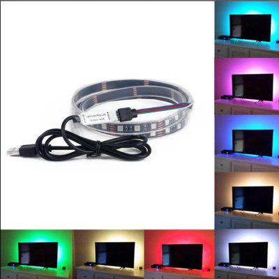RGB Change Color LED Tele Background Light Lucency with Remote Controller