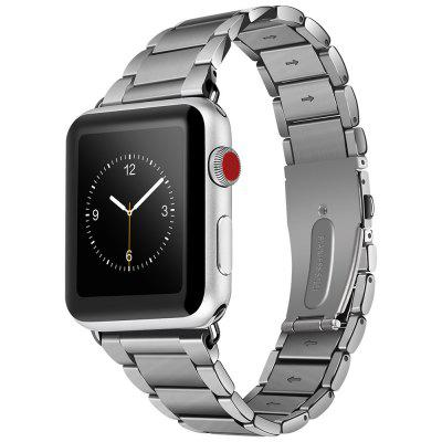 Buy HOCO 316 Stainless Steel Metal Clasp Classic Buckle Replacement Wrist Band for Apple Watch 42MM, SILVER, Consumer Electronics, Smart Watch Accessories for $45.35 in GearBest store