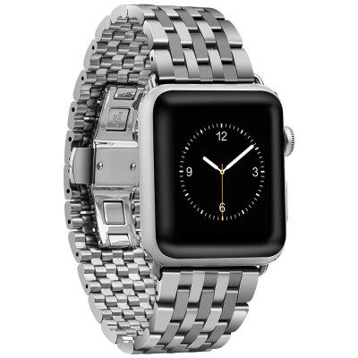 Hoco Watch Band Fivela de Cinta de Aço Inoxidável Original para Apple Watch 38MM