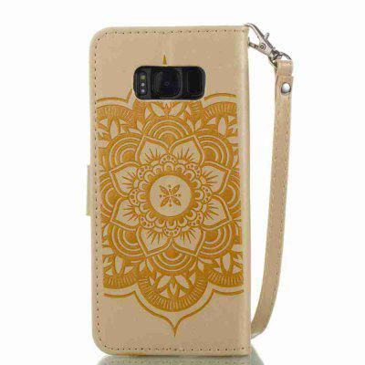Embossing - Campanula PU Phone Case for Samsung Galaxy S8 PlusSamsung S Series<br>Embossing - Campanula PU Phone Case for Samsung Galaxy S8 Plus<br><br>Features: Full Body Cases, Cases with Stand, With Credit Card Holder, With Lanyard<br>For: Samsung Mobile Phone<br>Functions: Camera Hole Location<br>Material: PU Leather, TPU<br>Package Contents: 1 x Phone Case<br>Package size (L x W x H): 15.90 x 7.90 x 1.80 cm / 6.26 x 3.11 x 0.71 inches<br>Package weight: 0.0680 kg<br>Style: Pattern, Mixed Color, Novelty<br>Using Conditions: Skiing,Cruise