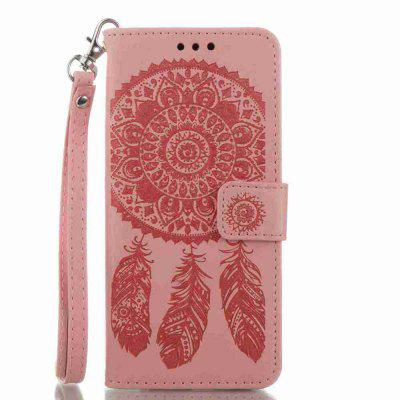 Buy Embossing Campanula PU Phone Case for Samsung Galaxy S8 Plus, PINK, Mobile Phones, Cell Phone Accessories, Samsung Accessories, Samsung S Series for $8.54 in GearBest store