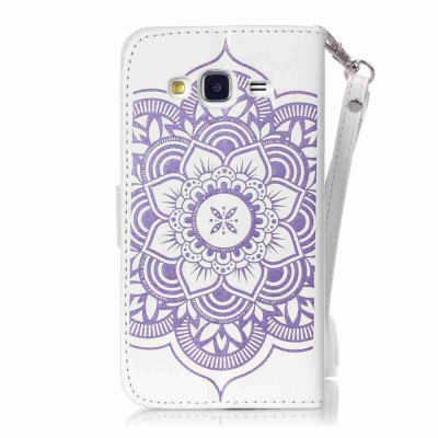 Embossing Campanula PU Phone Case for Samsung Galaxy J3Samsung J Series<br>Embossing Campanula PU Phone Case for Samsung Galaxy J3<br><br>Features: Cases with Stand, With Credit Card Holder, With Mirror, Dirt-resistant<br>For: Samsung Mobile Phone<br>Functions: Camera Hole Location<br>Material: PU Leather, TPU<br>Package Contents: 1 x Phone Case<br>Package size (L x W x H): 14.60 x 8.00 x 1.80 cm / 5.75 x 3.15 x 0.71 inches<br>Package weight: 0.0700 kg<br>Style: Pattern, Mixed Color, Novelty<br>Using Conditions: Skiing,Cruise