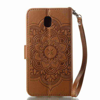 Embossing - Campanula PU Phone Case for Samsung Galaxy J530Samsung J Series<br>Embossing - Campanula PU Phone Case for Samsung Galaxy J530<br><br>Features: Cases with Stand, With Credit Card Holder, With Mirror, Dirt-resistant<br>For: Samsung Mobile Phone<br>Functions: Camera Hole Location<br>Material: PU Leather, TPU<br>Package Contents: 1 x Phone Case<br>Package size (L x W x H): 14.60 x 8.10 x 1.80 cm / 5.75 x 3.19 x 0.71 inches<br>Package weight: 0.0600 kg<br>Style: Pattern, Mixed Color, Novelty<br>Using Conditions: Skiing,Cruise
