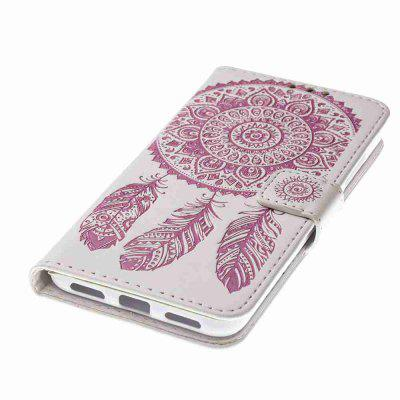 Embossing - Campanula PU Phone Case for HUAWEI P8 Lite 2017Cases &amp; Leather<br>Embossing - Campanula PU Phone Case for HUAWEI P8 Lite 2017<br><br>Features: Full Body Cases, Cases with Stand, With Credit Card Holder, With Lanyard, Dirt-resistant<br>For: Samsung Mobile Phone<br>Functions: Camera Hole Location<br>Material: PU Leather, TPU<br>Package Contents: 1 x Phone Case<br>Package size (L x W x H): 15.80 x 8.20 x 1.80 cm / 6.22 x 3.23 x 0.71 inches<br>Package weight: 0.0680 kg<br>Style: Pattern, Mixed Color, Novelty<br>Using Conditions: Skiing,Cruise