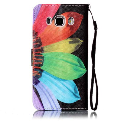 Painted PU Phone Case for Samsung Galaxy J5 2016Samsung J Series<br>Painted PU Phone Case for Samsung Galaxy J5 2016<br><br>Features: Cases with Stand, With Credit Card Holder, With Lanyard, Dirt-resistant<br>For: Samsung Mobile Phone<br>Material: PU Leather<br>Package Contents: 1 x Phone Case<br>Package size (L x W x H): 14.80 x 8.30 x 1.80 cm / 5.83 x 3.27 x 0.71 inches<br>Package weight: 0.0650 kg<br>Style: Novelty