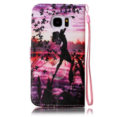 Painted PU Phone Case for Samsung Galaxy S7 EdgeSamsung S Series<br>Painted PU Phone Case for Samsung Galaxy S7 Edge<br><br>Features: Cases with Stand, With Credit Card Holder, With Lanyard, Dirt-resistant<br>For: Samsung Mobile Phone<br>Material: PU Leather<br>Package Contents: 1 x Phone Case<br>Package size (L x W x H): 15.50 x 8.00 x 1.80 cm / 6.1 x 3.15 x 0.71 inches<br>Package weight: 0.0650 kg<br>Style: Novelty