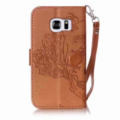 Double Embossed Skull Head PU Phone Case for Samsung Galaxy S7Samsung S Series<br>Double Embossed Skull Head PU Phone Case for Samsung Galaxy S7<br><br>Features: Full Body Cases, Cases with Stand, With Credit Card Holder, With Lanyard, Dirt-resistant<br>For: Samsung Mobile Phone<br>Functions: Camera Hole Location<br>Material: PU Leather, TPU<br>Package Contents: 1 x Phone Case<br>Package size (L x W x H): 14.40 x 7.90 x 1.80 cm / 5.67 x 3.11 x 0.71 inches<br>Package weight: 0.0710 kg<br>Style: Pattern, Solid Color, Cool Skulls, Novelty<br>Using Conditions: Skiing,Cruise
