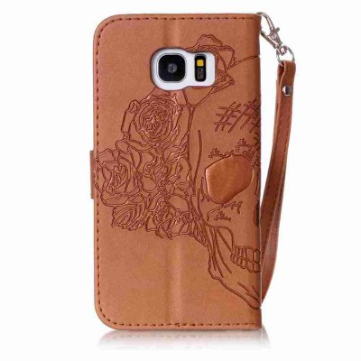 Double Embossed Skull Head PU Phone Case for Samsung Galaxy   S7  EdgeSamsung S Series<br>Double Embossed Skull Head PU Phone Case for Samsung Galaxy   S7  Edge<br><br>Features: Full Body Cases, Cases with Stand, With Credit Card Holder, With Lanyard, Dirt-resistant<br>For: Samsung Mobile Phone<br>Functions: Camera Hole Location<br>Material: PU Leather, TPU<br>Package Contents: 1 x Phone Case<br>Package size (L x W x H): 15.30 x 8.20 x 1.80 cm / 6.02 x 3.23 x 0.71 inches<br>Package weight: 0.0750 kg<br>Style: Pattern, Solid Color, Cool Skulls, Novelty<br>Using Conditions: Skiing,Cruise
