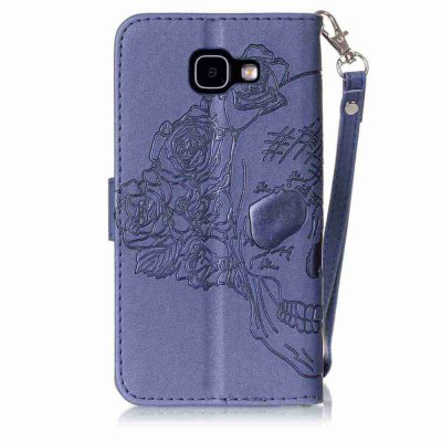 Double Embossed Skull Head PU Phone Case for Samsung Galaxy   A3 2016Samsung A Series<br>Double Embossed Skull Head PU Phone Case for Samsung Galaxy   A3 2016<br><br>Features: Full Body Cases, Cases with Stand, With Credit Card Holder, With Lanyard, Dirt-resistant<br>For: Samsung Mobile Phone<br>Functions: Camera Hole Location<br>Material: PU Leather, TPU<br>Package Contents: 1 x Phone Case<br>Package size (L x W x H): 13.70 x 7.40 x 1.80 cm / 5.39 x 2.91 x 0.71 inches<br>Package weight: 0.0630 kg<br>Style: Pattern, Solid Color, Cool Skulls, Novelty<br>Using Conditions: Skiing,Cruise