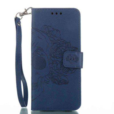 Double Embossed Skull Head PU Phone Case for Samsung Galaxy S8Samsung S Series<br>Double Embossed Skull Head PU Phone Case for Samsung Galaxy S8<br><br>Features: Full Body Cases, Cases with Stand, With Credit Card Holder, With Lanyard, Dirt-resistant<br>For: Samsung Mobile Phone<br>Functions: Camera Hole Location<br>Material: PU Leather, TPU<br>Package Contents: 1 x Phone Case<br>Package size (L x W x H): 15.30 x 7.50 x 1.80 cm / 6.02 x 2.95 x 0.71 inches<br>Package weight: 0.0710 kg<br>Style: Pattern, Solid Color, Cool Skulls, Novelty<br>Using Conditions: Skiing,Cruise