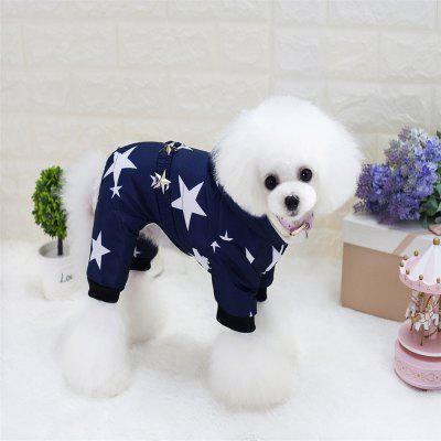 Lovoyager A17 Lovoyager Pet Clothing with Stars Winter Luxury Polar Fleece Dog CoatDog Clothing &amp; Shoes<br>Lovoyager A17 Lovoyager Pet Clothing with Stars Winter Luxury Polar Fleece Dog Coat<br><br>For: Dogs<br>item: dog clothes<br>Package Contents: 1 x Dog Coat<br>Package size (L x W x H): 40.00 x 30.00 x 6.00 cm / 15.75 x 11.81 x 2.36 inches<br>Package weight: 0.1600 kg<br>Product weight: 0.1400 kg<br>Season: Autumn, Winter