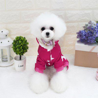 Lovoyager A17 Lovoyager Pet Clothing with Stars Winter Luxury Polar Fleece Dog CoatDog Clothing &amp; Shoes<br>Lovoyager A17 Lovoyager Pet Clothing with Stars Winter Luxury Polar Fleece Dog Coat<br><br>For: Dogs<br>Package Contents: 1 x Dog Coat<br>Package size (L x W x H): 40.00 x 30.00 x 6.00 cm / 15.75 x 11.81 x 2.36 inches<br>Package weight: 0.1600 kg<br>Product weight: 0.1400 kg<br>Season: Autumn, Winter