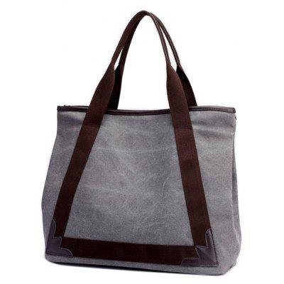 Canvas Handbags Fashion Wild Ladies Shoulder BagHandbags<br>Canvas Handbags Fashion Wild Ladies Shoulder Bag<br><br>Closure Type: Zipper<br>Embellishment: Appliques<br>Exterior: None<br>Gender: For Women<br>Handbag Type: Other<br>Lining Material: Polyester<br>Main Material: Canvas<br>Number of Handles / Straps: Two<br>Package Contents: 1 x Handbag<br>Package size (L x W x H): 41.00 x 19.00 x 35.00 cm / 16.14 x 7.48 x 13.78 inches<br>Package weight: 0.5100 kg<br>Pattern Type: Solid<br>Shape: Hobos,Bucket,Casual Tote<br>Style: Casual<br>Weight: 5.4530kg