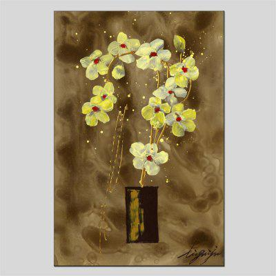 Buy Hua Tuo HT 2026 Flower Style Oil Painting, YELLOW, Home & Garden, Home Decors, Wall Art, Oil Paintings for $43.03 in GearBest store