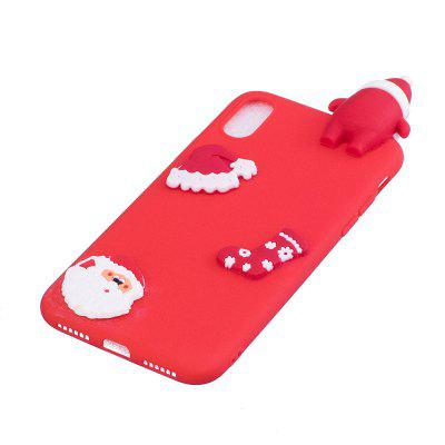 Fashionable Christmas Santa Claus Silicone Case for iPhone XiPhone Cases/Covers<br>Fashionable Christmas Santa Claus Silicone Case for iPhone X<br><br>Color: Black,White,Red,Blue<br>Compatible for Apple: iPhone X<br>Features: Back Cover<br>Material: Silicagel<br>Package Contents: 1 x Phone Case<br>Package size (L x W x H): 14.00 x 6.80 x 1.30 cm / 5.51 x 2.68 x 0.51 inches<br>Package weight: 0.0200 kg<br>Style: Novelty