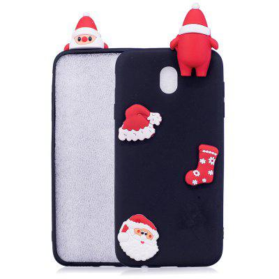 Fashionable Christmas Oldman Slicone Case for Samsung Galaxy J730 (2017) / J7 Pro
