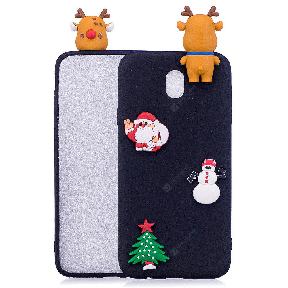Fashionable Christmas Deer Slicone Case for Samsung Galaxy J330 (2017) / J3 Pro