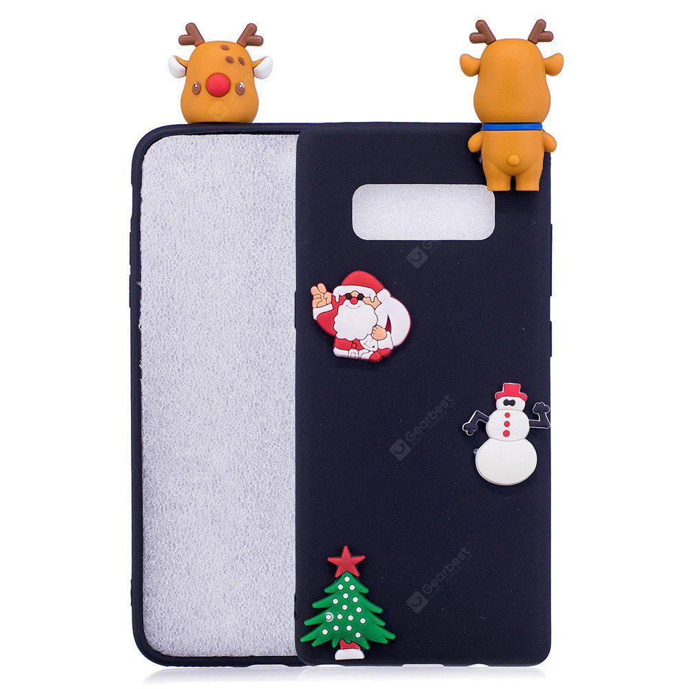 Fashionable Christmas Deer Slicone Case for Samsung Galaxy Note 8