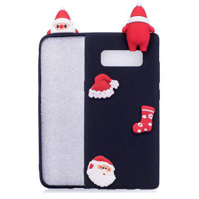 Fashionable Christmas Oldman Silicone Case for Samsung Galaxy Note 8