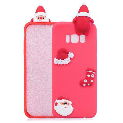 Fashionable Christmas Oldman Silicone Case for Samsung Galaxy S8