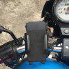 360 Degree Non-Slip Rotating USB Holder Charger for Motorcycle / Electric Bike - BLACK