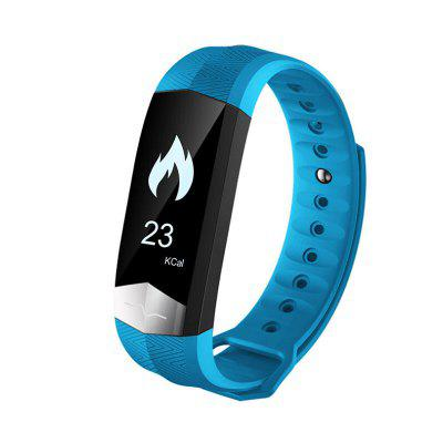 CD01 Ecg Bluetooth Smart Bracelet Heart Rate / Blood Pressure / Blood Oxygen Monitoring Fitness Tracker Pedometer Watch for Android / iOS
