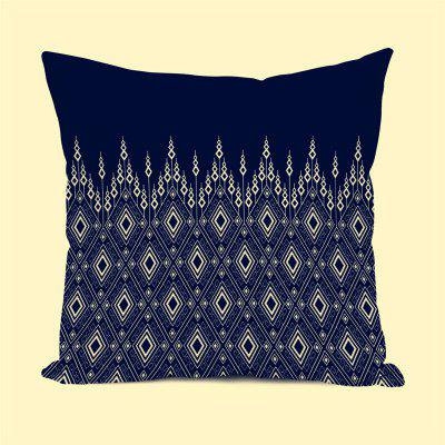 Sofa Cushion Cover Classic Vintage Drops Pattern Decorative