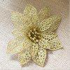 Buy WS Wedding Decoration Artificial Simulation Pierced Fake Flowers GOLDEN