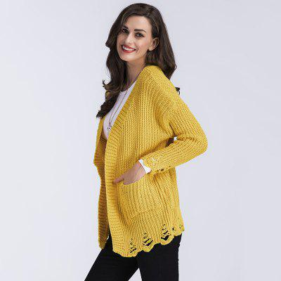 Womens Fashion Long Sleeve Knitted SweaterSweaters &amp; Cardigans<br>Womens Fashion Long Sleeve Knitted Sweater<br><br>Collar: V-Neck<br>Elasticity: Elastic<br>Material: Cashmere, Acrylic<br>Package Contents: 1 x Sweater<br>Sleeve Length: Full<br>Style: Fashion<br>Technics: Flat Knitted<br>Type: Cardigans<br>Weight: 0.3500kg