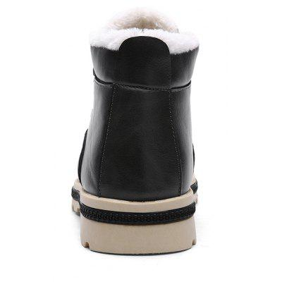 "High Vamp Winter Warm BootsMens Boots<br>High Vamp Winter Warm Boots<br><br>Boot Height: Ankle<br>Boot Type: Work &amp; Safety<br>Closure Type: Zip<br>Embellishment: None<br>Gender: For Men<br>Heel Hight: Low(0.75""-1.5"")<br>Heel Type: Flat Heel<br>Insole Material: Rubber<br>Lining Material: Plush<br>Outsole Material: Rubber<br>Package Contents: 1?Shoes(pair)<br>Pattern Type: Others<br>Season: Winter<br>Shoe Width: Medium(B/M)<br>Toe Shape: Round Toe<br>Upper Material: PU<br>Weight: 1.0200kg"