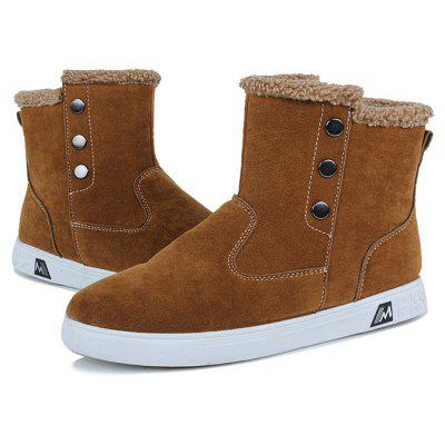 """Winter Warm Men BootsMens Boots<br>Winter Warm Men Boots<br><br>Boot Height: Ankle<br>Boot Type: Snow Boots<br>Closure Type: Slip-On<br>Embellishment: None<br>Gender: For Men<br>Heel Hight: Low(0.75""""-1.5"""")<br>Heel Type: Flat Heel<br>Insole Material: Rubber<br>Lining Material: Plush<br>Outsole Material: Rubber<br>Package Contents: 1?Shoes(pair)<br>Pattern Type: Others<br>Season: Winter<br>Shoe Width: Medium(B/M)<br>Toe Shape: Round Toe<br>Upper Material: PU<br>Weight: 1.0200kg"""