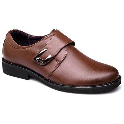 Leather Shoes MenS Wedding Black With Sharp Tips Pig Inner Rubber