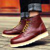 Buy Martin Men's Frock Trend Leather Boots Winter 44 BURGUNDY