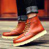 Buy Martin Men's Frock Trend Leather Boots Winter 42 BROWN