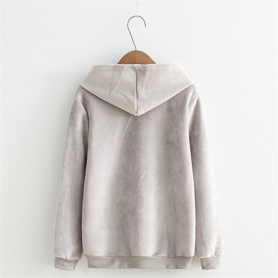 2017 New Lady Rabbit Ear HoodieSweatshirts &amp; Hoodies<br>2017 New Lady Rabbit Ear Hoodie<br><br>Closure Type: None<br>Collar: Hooded<br>Detachable Part: None<br>Elasticity: Elastic<br>Fabric Type: Cotton<br>Hooded: Yes<br>Material: Cotton<br>Package Contents: 1 x Hoodie<br>Pattern Style: Character<br>Shirt Length: Regular<br>Sleeve Length: Full<br>Sleeve Style: Regular<br>Style: Casual<br>Thickness: Standard<br>Weight: 0.3000kg