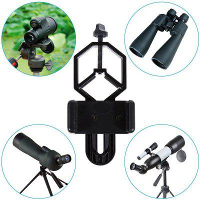 al Cell Phone Adapter Mount Compatible with Binocular Monocular Spotting Scope Telescope and Microscope - for iPhone / Sony / Samsung / MotoPhoto Studio Accessories<br>al Cell Phone Adapter Mount Compatible with Binocular Monocular Spotting Scope Telescope and Microscope - for iPhone / Sony / Samsung / Moto<br><br>Accessories type: Other<br>Material: Metal<br>Package Contents: 1 x Lictin Cell Phone Adapter Mount<br>Package size (L x W x H): 17.50 x 4.50 x 9.00 cm / 6.89 x 1.77 x 3.54 inches<br>Package weight: 0.1380 kg<br>Product weight: 0.1080 kg