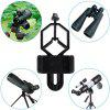 al Cell Phone Adapter Mount Compatible with Binocular Monocular Spotting Scope Telescope and Microscope - for iPhone / Sony / Samsung / Moto - 黑色