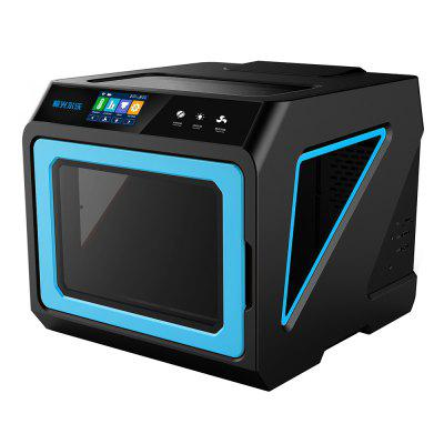 JGAURORA A7 Desktop Intelligent 3D Printer3D Printers, 3D Printer Kits<br>JGAURORA A7 Desktop Intelligent 3D Printer<br><br>Brand: JGAURORA<br>Certificate: CE,FCC,RoHs<br>Connector Type: SD card, USB<br>File format: BMP, G-code, JPG, AMF, OBJ, STL<br>Host computer software: Cura,Repetier-Host,Slic3r<br>Language: Chinese,English,French,German,Italian,Japanese,Portuguese,Russian,Spanish<br>Layer thickness: 0.1-0.3mm<br>LCD Screen: Yes<br>Material diameter: 1.75mm<br>Memory card offline print: SD card<br>Model: A7<br>Model supporting function: Yes<br>Nozzle diameter: 0.4mm<br>Nozzle quantity: Single<br>Nozzle temperature: Room temperature to 250 degree<br>Package size: 59.50 x 64.50 x 57.50 cm / 23.43 x 25.39 x 22.64 inches<br>Package weight: 29.0000 kg<br>Packing Contents: 1 x Fully-assembled A7 3D Printer, 1 x Power Adapter<br>Packing Type: Assembled packing<br>Platform board: Aluminum Base<br>Platform temperature: Room temperature to 110 degree<br>Print speed: 10 - 150mm/s<br>Product forming size: 240 x 220 x 200mm<br>Product size: 45.50 x 51.00 x 41.20 cm / 17.91 x 20.08 x 16.22 inches<br>Product weight: 21.0000 kg<br>Supporting material: ABS, Flexible PLA, Flexible Filaments, PLA, TPU<br>Type: Metal, Complete Machine<br>Voltage Range: AC 110 - 220V<br>Working Power: 230W<br>XY-axis positioning accuracy: 0.011mm<br>Z-axis positioning accuracy: 0.0025mm