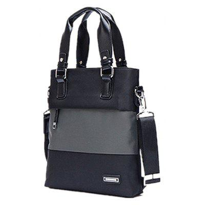 Korean Mens Vertical Portable Briefcase Shoulder Oblique Shoulder Bag 715Handbags<br>Korean Mens Vertical Portable Briefcase Shoulder Oblique Shoulder Bag 715<br><br>Closure Type: Zipper<br>Embellishment: Chains<br>Exterior: None<br>Gender: For Men<br>Handbag Type: Other<br>Lining Material: Nylon<br>Main Material: Canvas<br>Number of Handles / Straps: Two<br>Package Contents: 1 ? Handbag for Men<br>Package size (L x W x H): 29.00 x 26.00 x 29.00 cm / 11.42 x 10.24 x 11.42 inches<br>Package weight: 1.0600 kg<br>Pattern Type: Others<br>Shape: Casual Tote<br>Style: Casual<br>Weight: 4.3732kg