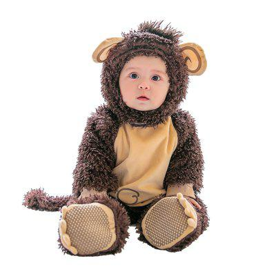 Monkey Modeling Jumpsuits for Baby