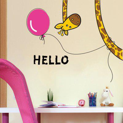 DSU Creative Home Decoration Giraffe Sticker for Living Room Bedroom DoorWall Stickers<br>DSU Creative Home Decoration Giraffe Sticker for Living Room Bedroom Door<br><br>Function: Decorative Wall Sticker, Fridge Sticker<br>Material: Vinyl(PVC)<br>Package Contents: 1 x Wall Sticker<br>Package size (L x W x H): 34.00 x 3.00 x 3.00 cm / 13.39 x 1.18 x 1.18 inches<br>Package weight: 0.1500 kg<br>Product size (L x W x H): 60.00 x 30.00 x 1.00 cm / 23.62 x 11.81 x 0.39 inches<br>Product weight: 0.1000 kg<br>Quantity: 1<br>Subjects: Cartoon,Cute,Fashion,Holiday,Leisure,Letter,Others<br>Suitable Space: Bedroom,Boys Room,Girls Room,Hotel,Kids Room<br>Type: Plane Wall Sticker