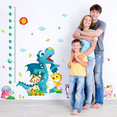 Buy DSU Animal Dinosaur Removable Height Sticker Furniture Kids Room Cartoon Wall Decor, COLORFUL, Home & Garden, Home Decors, Wall Art, Wall Stickers for $5.53 in GearBest store
