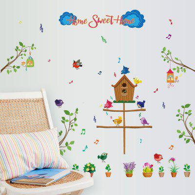 Buy DSU New Creative Decoration Removable Wall Sticker for Living Room Sofa Desk Background, COLORFUL, Home & Garden, Home Decors, Wall Art, Wall Stickers for $6.23 in GearBest store