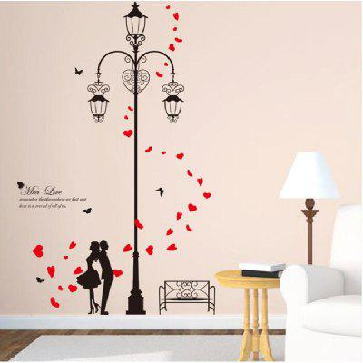Buy DSU Street Lights Love DIY Vinyl Wall Sticker Art Decal for Kids Room Home Decor, COLORFUL, Home & Garden, Home Decors, Wall Art, Wall Stickers for $4.84 in GearBest store