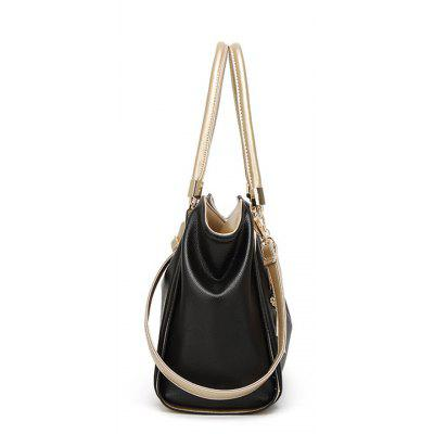 Large Capacity Handbag Messenger BagHandbags<br>Large Capacity Handbag Messenger Bag<br><br>Closure Type: Zipper<br>Embellishment: Chains<br>Exterior: Silt Pocket<br>Gender: For Women<br>Handbag Type: Totes<br>Lining Material: Cotton,Polyester<br>Main Material: Polyester<br>Number of Handles / Straps: Three<br>Package Contents: 1 x Handbag<br>Package size (L x W x H): 36.50 x 16.00 x 23.00 cm / 14.37 x 6.3 x 9.06 inches<br>Package weight: 0.6000 kg<br>Pattern Type: Solid<br>Product size (L x W x H): 35.50 x 15.00 x 23.00 cm / 13.98 x 5.91 x 9.06 inches<br>Product weight: 0.5000 kg<br>Shape: Casual Tote<br>Style: Fashion<br>Weight: 2.6864kg