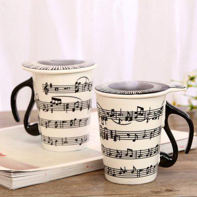 270ML Creative Musical Note CupWater Cup &amp; Bottle<br>270ML Creative Musical Note Cup<br><br>Material: Ceramics<br>Package Contents: 1 x Cup<br>Package size (L x W x H): 11.00 x 8.30 x 12.00 cm / 4.33 x 3.27 x 4.72 inches<br>Package weight: 0.5000 kg<br>Product size (L x W x H): 7.70 x 5.90 x 10.50 cm / 3.03 x 2.32 x 4.13 inches<br>Product weight: 0.4000 kg<br>Style: Casual, Fashion<br>Type: Water, Tea, Others, Milk